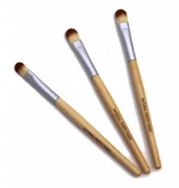 Natural Earth Paint - Bamboe schilderpenselen 3 stuks