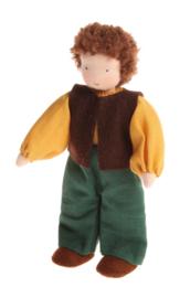 Grimm's - Poppenhuis Man, bruin haar - 20060