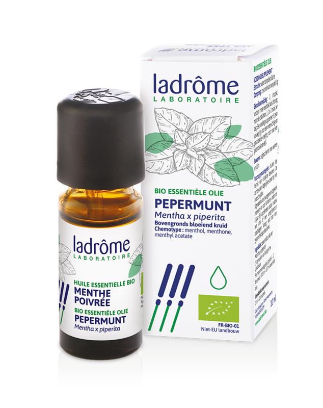 Ladrome - Bio etherische olie Pepermunt - 10 ml