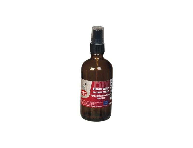 Verstuiver Spray spray fles, leeg, glas - 100 ml