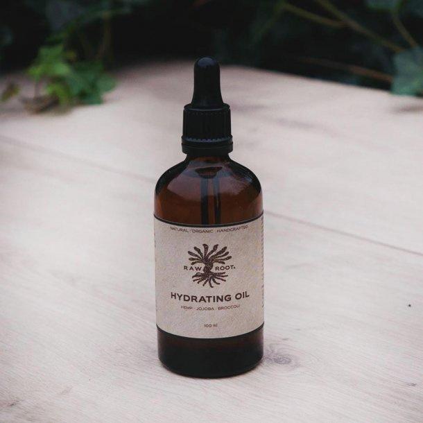 RAW ROOTs - Hydraterende olie voor huid, baard, haar. Geschikt voor dreadlocks - 100 ml