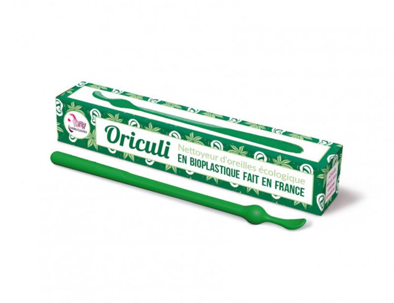 Lamazuna - Oriculli Herbruikbaar wasbaar oorstokje - Groen