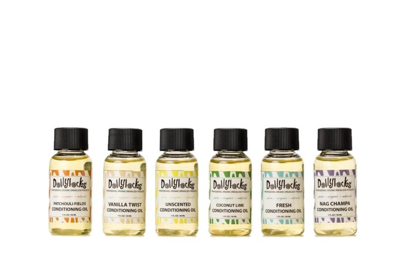 Dollylocks artikel - Hydraterende olie voor haar en dreadlocks - Verschillende geuren - 30 ml