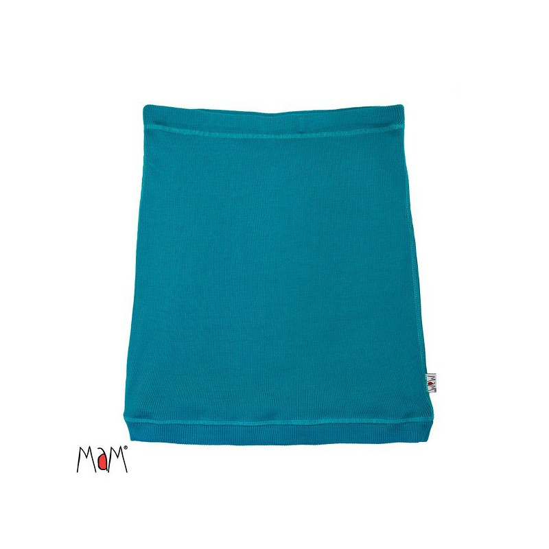 Manymonths MaM - Multitube Rok in wol of buikband of borstvoedingstop - Royal Turquoise - S/M of L/XL