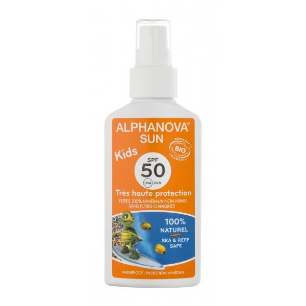 Alphanova Sun Bio  - Kids zon spray SPF 50 - 125 gr