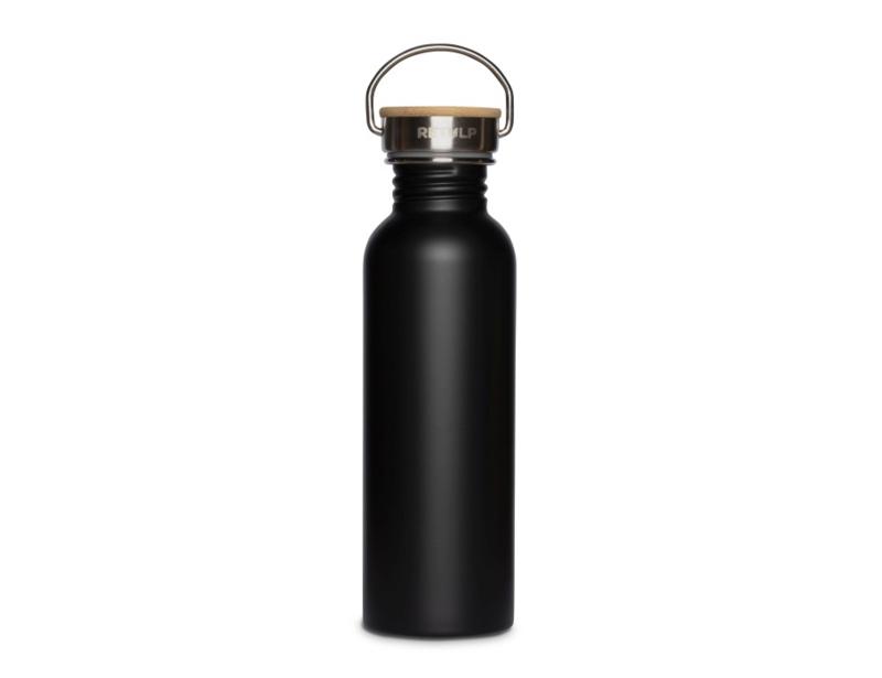 Retulp - Urban waterfles rvs - Night Black 750 ml