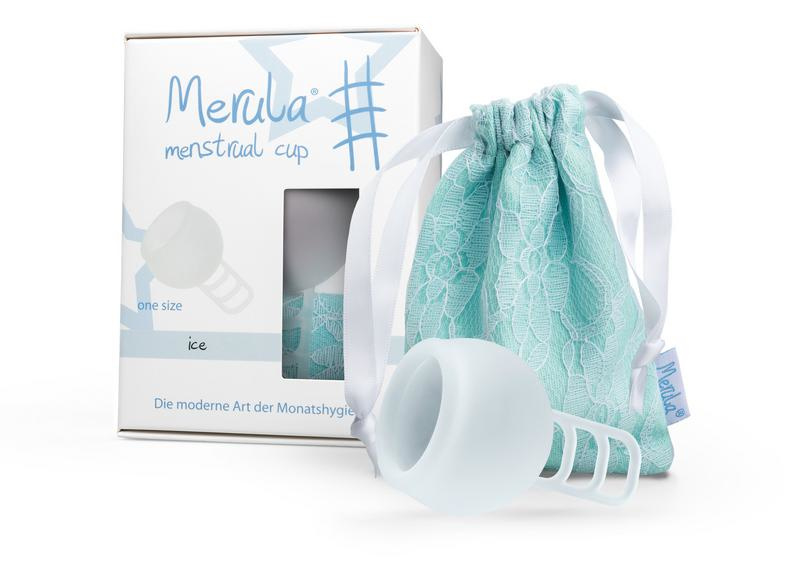 Merula - Menstruatiecup - Ice (kleurloos)
