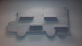 Wandbord Vrachtwagen dicht