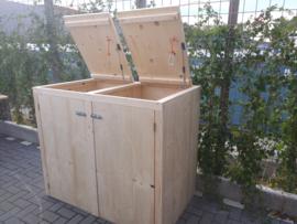 Container ombouw voor 2 kliko's