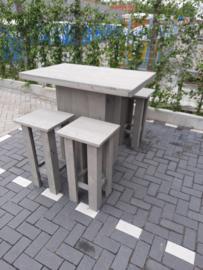 Sta tafel 80x120 met kruk Easy