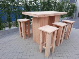 Sta tafel 80x180 met kruk Easy