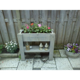 Minigarden met onderplank