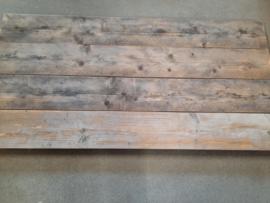 Wandbord Gebruikt steigerhout 70x140