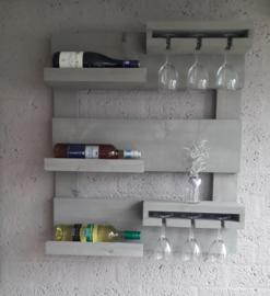 Wijn wandbord klein