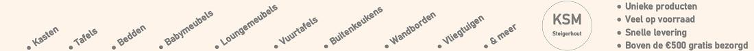 KSM-Steigerhout