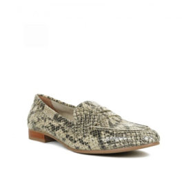 Gosh loafers | Snake Beige