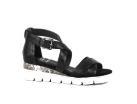 Pitt sandaal | Black Snake Combi