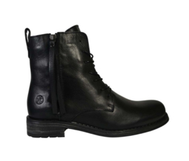 Post Xchange Biker Boots | Messy Black