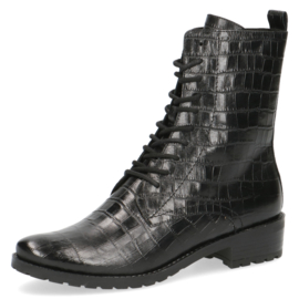 Caprice veterlaars | Black Croco
