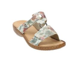 Rieker slippers | White Multi Color