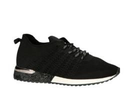 La Strada sneakers | Black Knitted