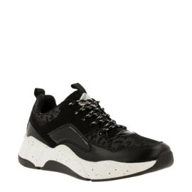 Bullboxer sneaker | Black Combi Leopard