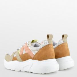 Poelman sneaker    Beige Combi