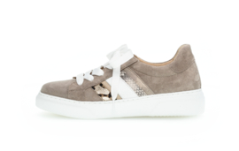 Gabor sneakers | Taupe Combi Snake