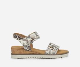 Gabor sandalen | Snake Jaguar Creme