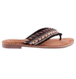 Lazamani slippers | Black