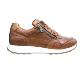 Post Xchange sneaker Carly | Cognac Snake