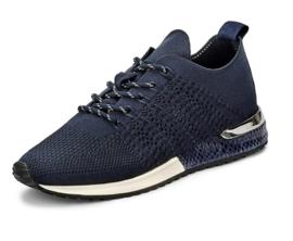 La strada sneaker | Knitted Navy Blue