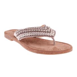 Lazamani slippers   Silver