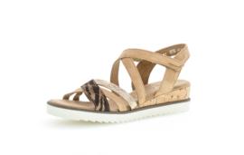 Gabor sandaal | Caramel Zebra Combi