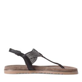 Marco Tozzi sandaal   Black