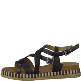 Marco Tozzi sandaal | Black