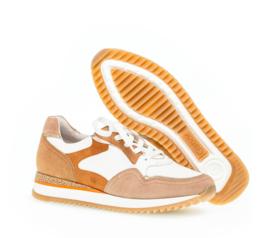 Gabor sneaker | Weiss / Beige