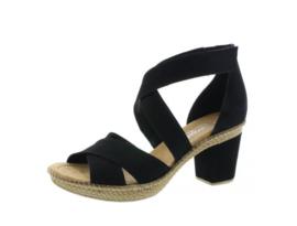 Rieker sandaal   Black
