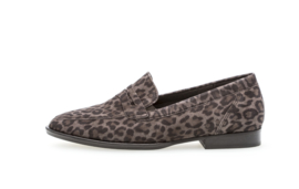 Gabor Loafers | Leopard Grey