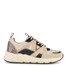 Poelman sneaker | Sand Black Combi