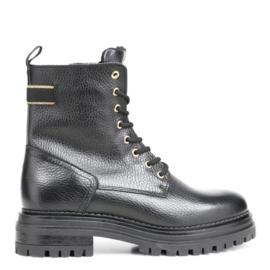 Poelman Biker Boots | Black Gold