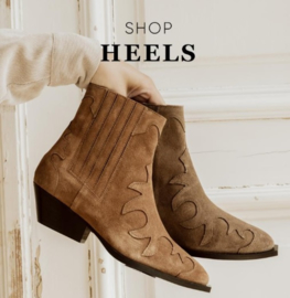 Tango Western Boots | Taupe Suède