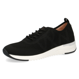Caprice sneaker | Black Knit
