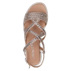 Caprice sandaal | Taupe Metallic