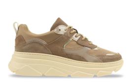 Poelman sneaker | Taupe Stone