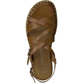 Marco Tozzi sandaal | Cognac