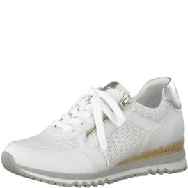 Marco Tozzi sneaker | White Combi Silver