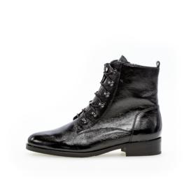 Gabor Biker Boots | Lack Black
