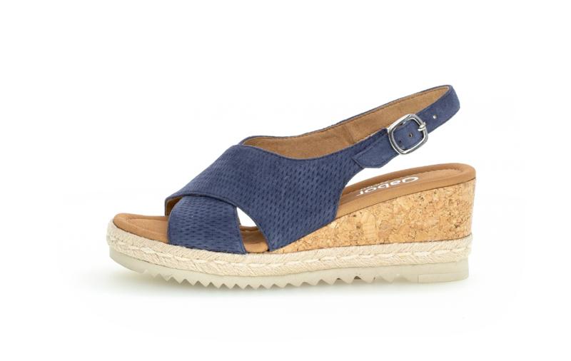 Gabor sandaal   Jeans Blue