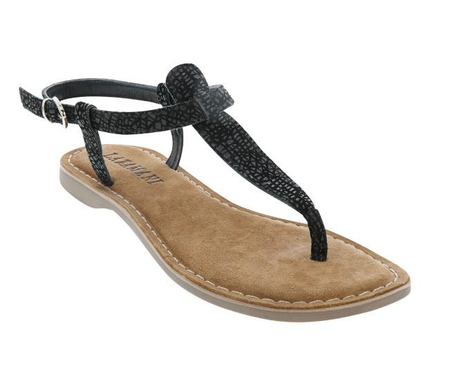 Lazamani sandaal   Black